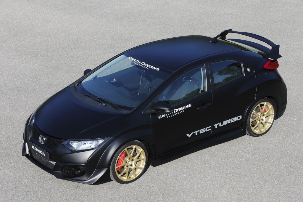 Honda Civic Type R prototype, Honda Proving Ground, Tochigi, Japan, Nov 2013