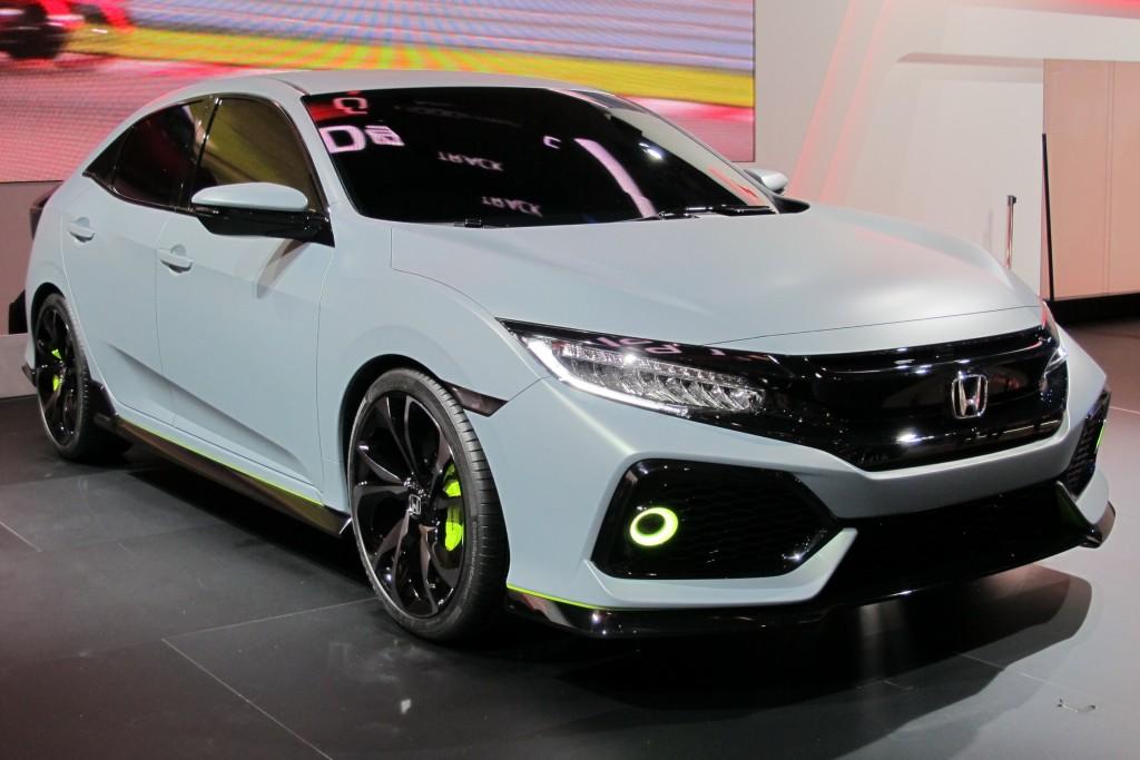 Image: 2017 Honda Civic Hatchback prototype, 2016 Geneva Motor Show ...
