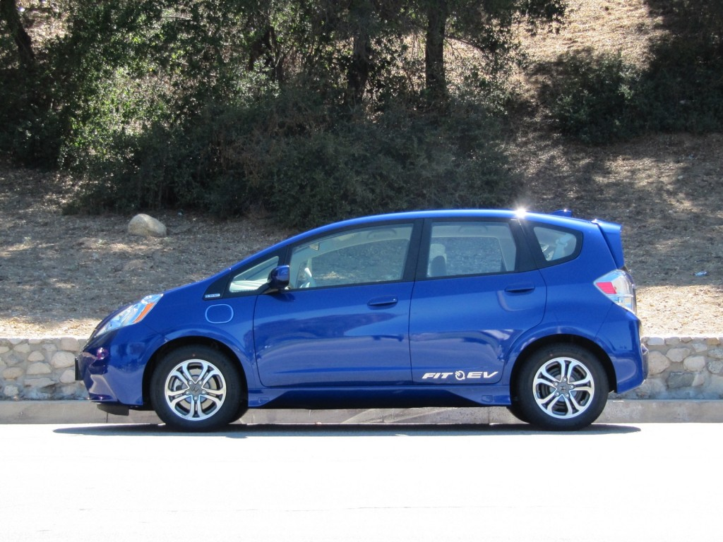 2013 Honda Fit EV drive event, Pasadena, CA, June 2012