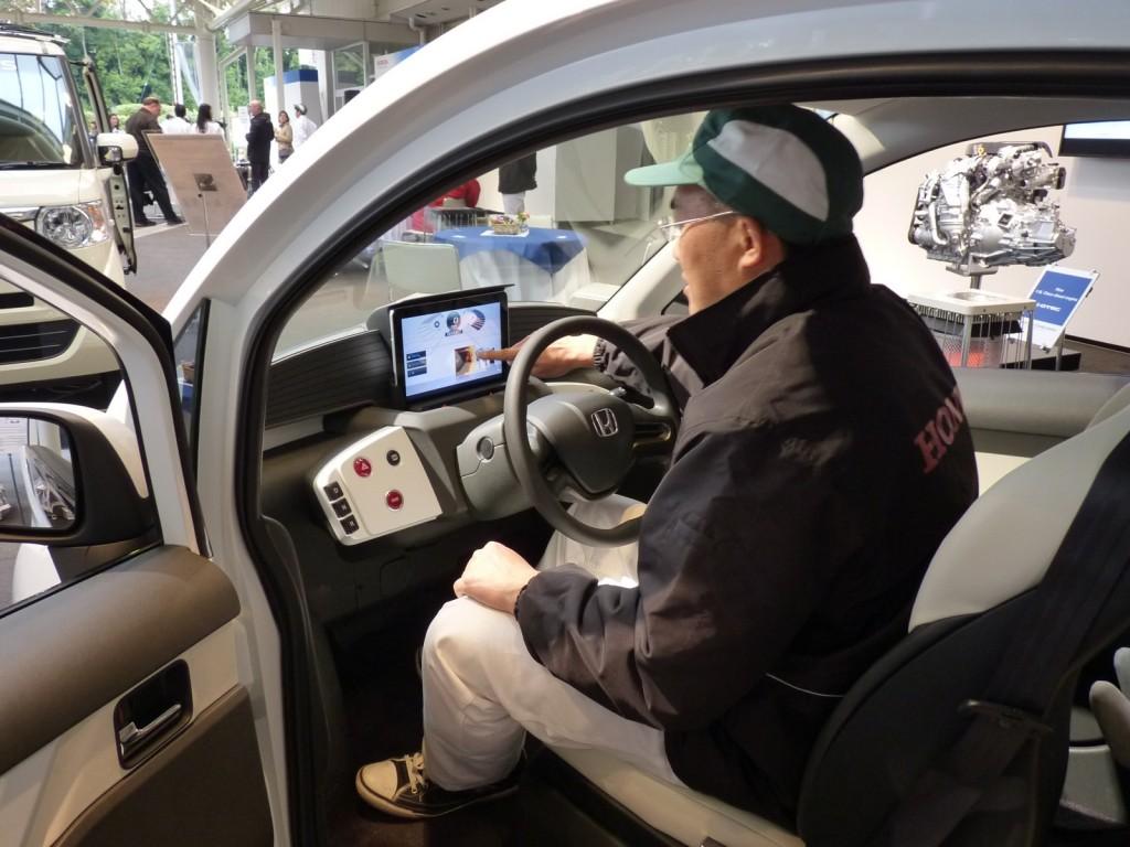 Honda Micro-Commuter Prototype  -  Tochigi, Japan  -  11/2012
