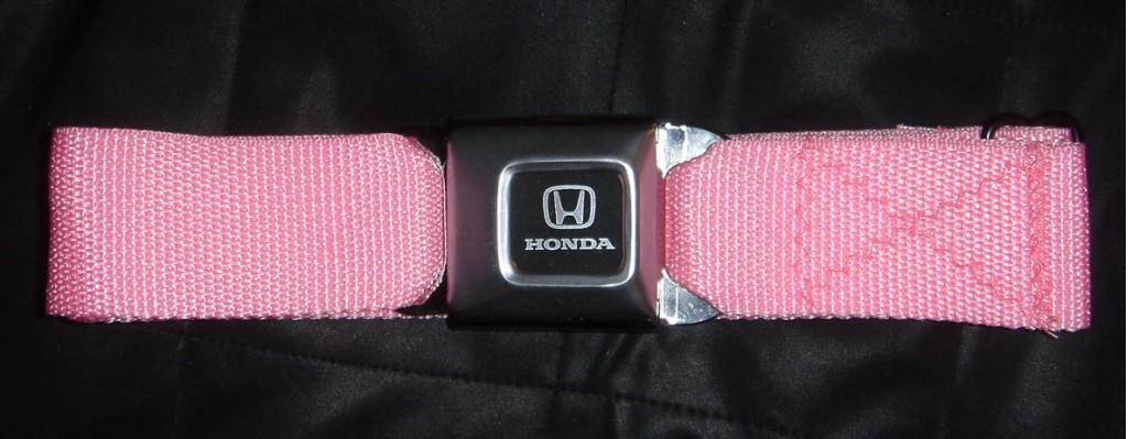 Honda seatbelt