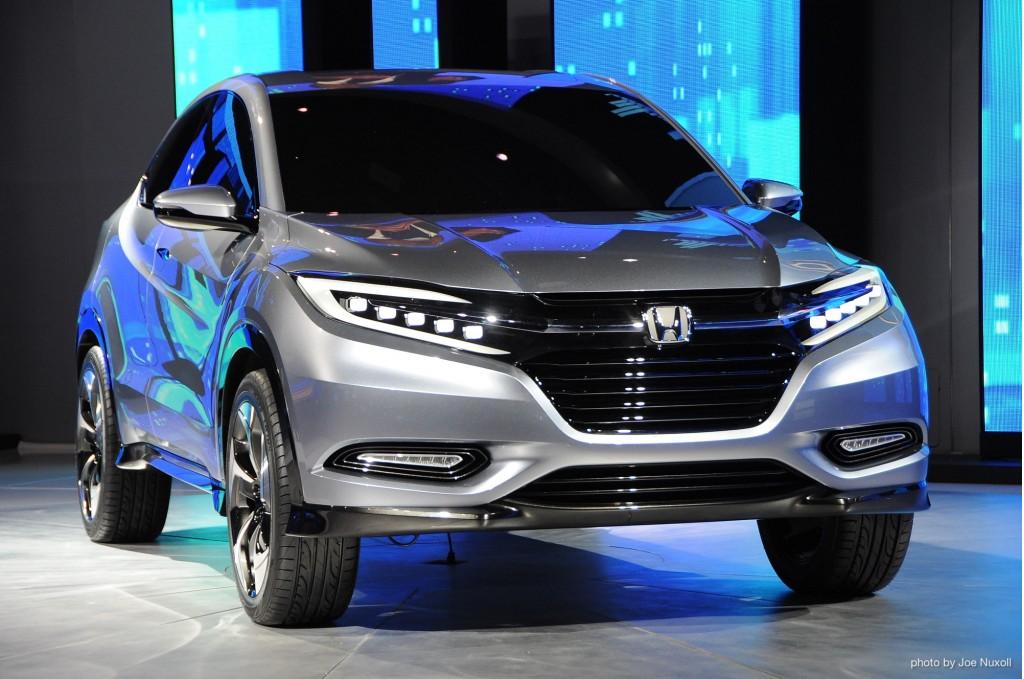 Honda Urban SUV Concept revealed at 2013 Detroit Auto Show