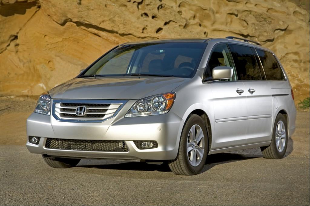 2010 Honda Odyssey Gets Fresh Hues, Little Else New