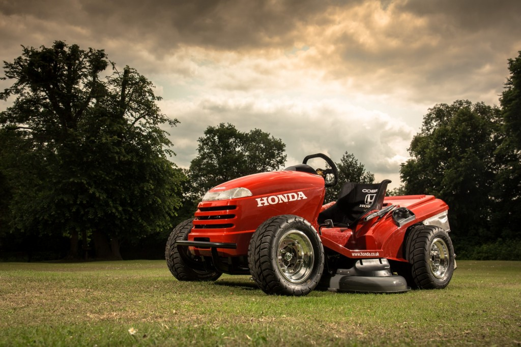 Honda's 130-mph Mean Mower