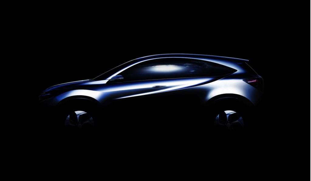 Honda's Urban SUV Concept teaser - image: Honda