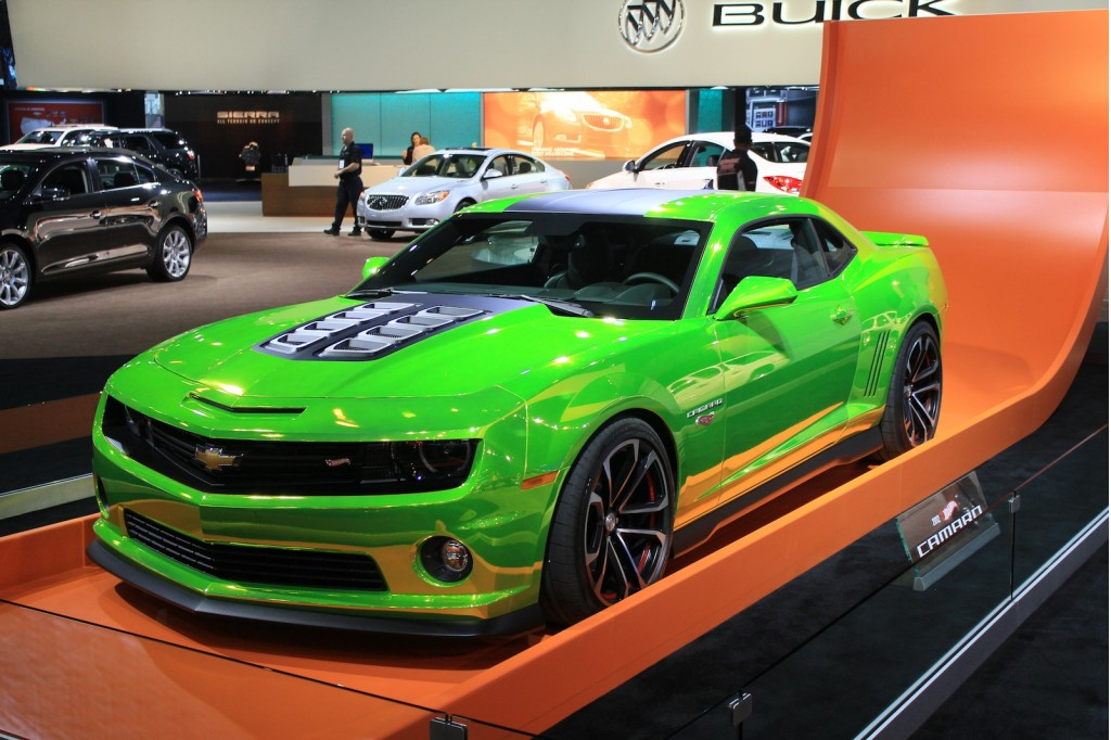 Image: Hot Wheels Camaro at the 2011 Los Angeles Auto Show, size: 1024 ...