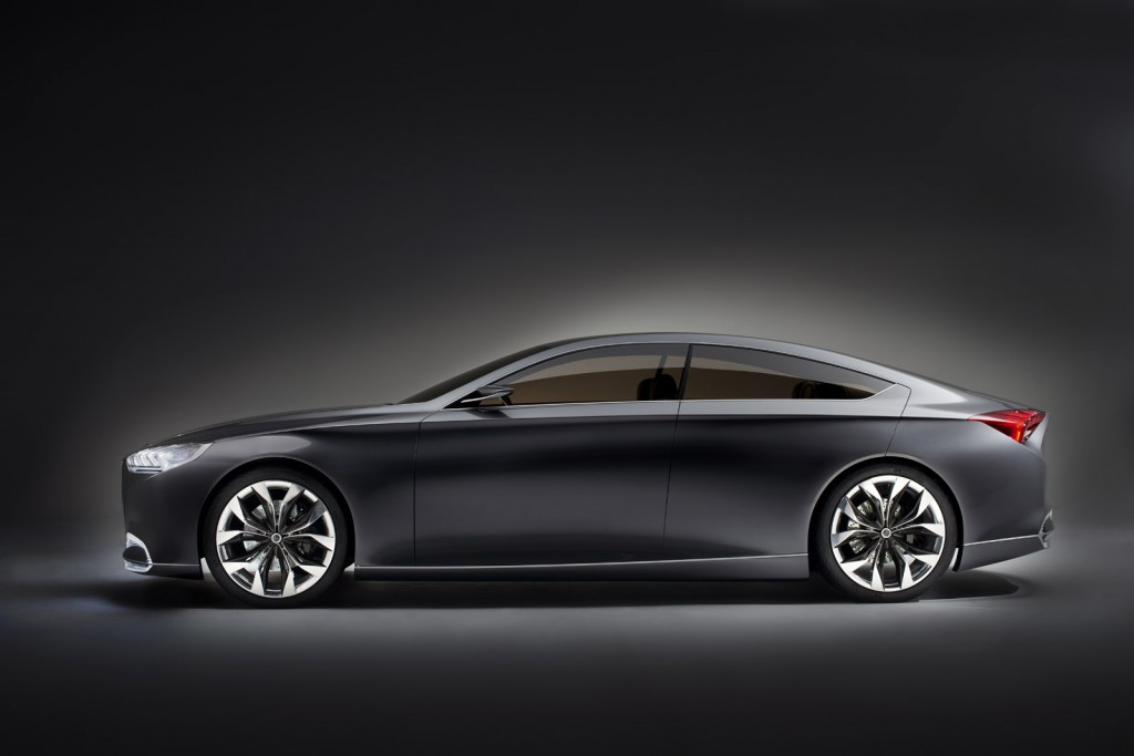 Hyundai HCD-14 Genesis Concept: High Tech, High Design