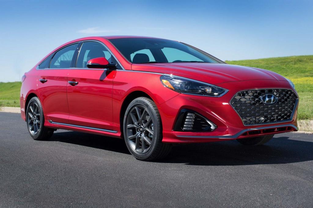 2018 Hyundai Sonata priced from $22,935