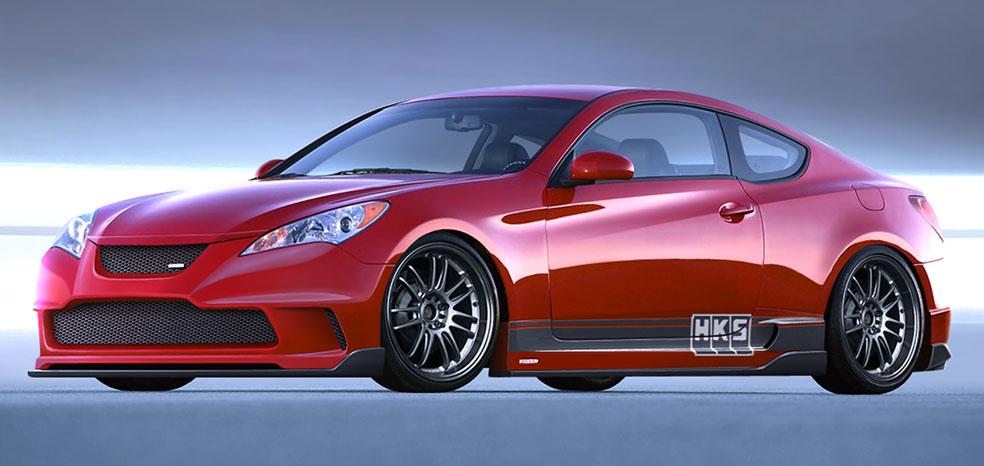HKS Tweaks 2010 Hyundai Genesis Coupe for SEMA