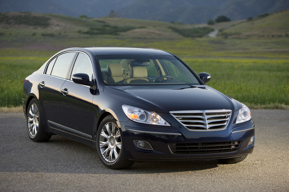 2009 Hyundai Genesis Drives To The Top Of J.D. Power's Heap