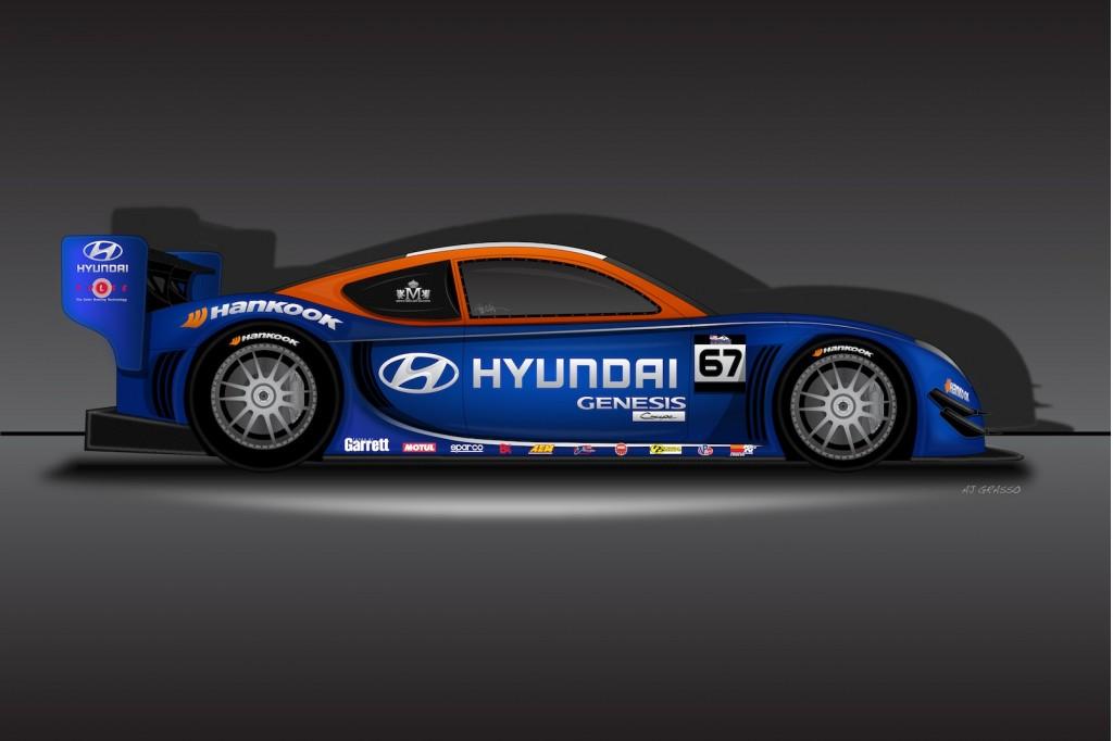Hyundai's upcoming Unlimited Class Pikes Peak racer - image: Hyundai