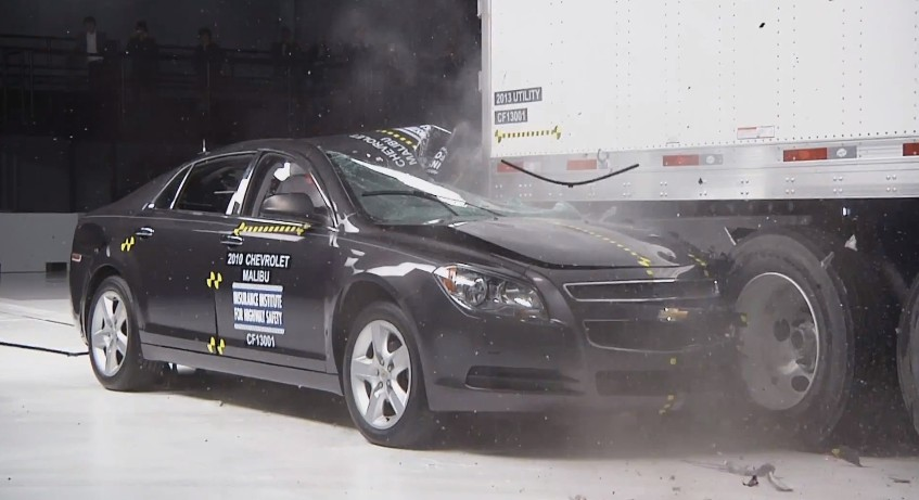 "Used Cars In Atlanta >> IIHS: Today's ""Mansfield Bars"" Don't Work So Well (Video)"