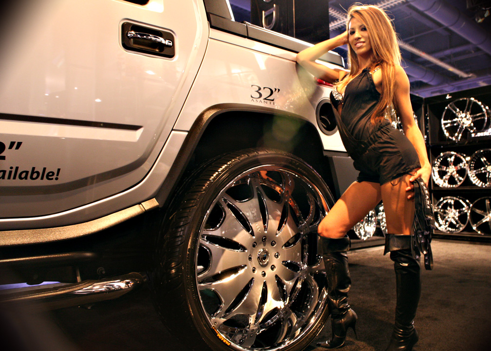 Sema 2008 The Most Expensive Rims Ever