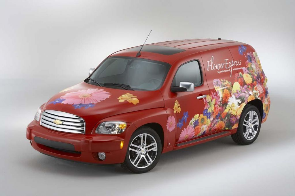 "Chevy's Panel Van Screams ""Versatile"""