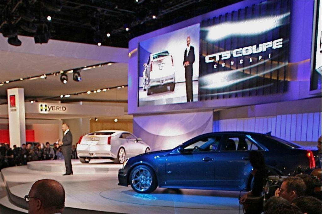 GM Keeps A Secret — CT Coupe Concept