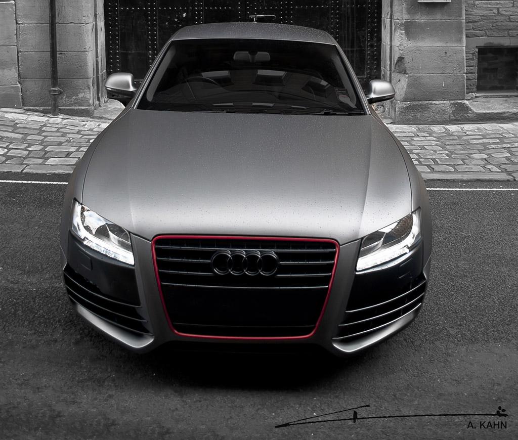 Image: Project Kahn Matte Gray Pearl Audi A5, Size: 1024 X