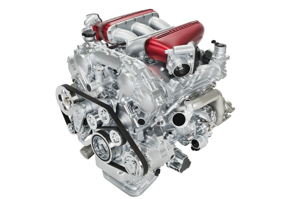 Infiniti Q50 Eau Rouge engine