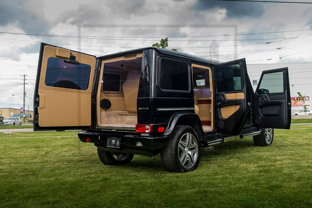 INKAS Mercedes-Benz G63 AMG armored limo