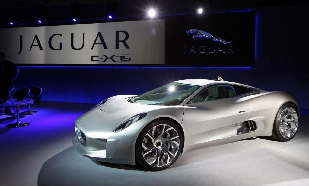 c x75 coming at last bond villain to drive jaguar supercar in spectre
