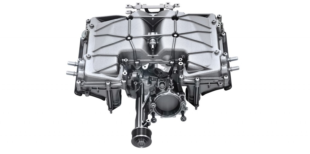 Supercharger from Jaguar 3.0-liter V-6 engine