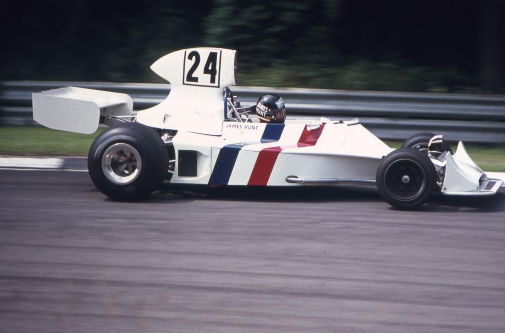 James Hunt's 1974 Hesketh 308 F1 car