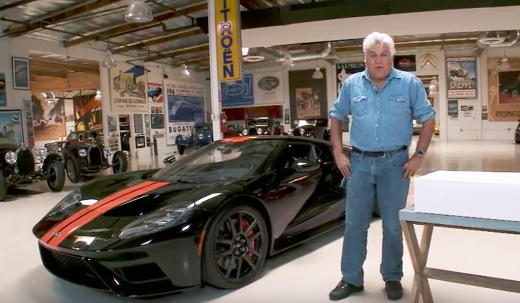 The Ford Gt Finally Features On Quot Jay Leno S Garage Quot