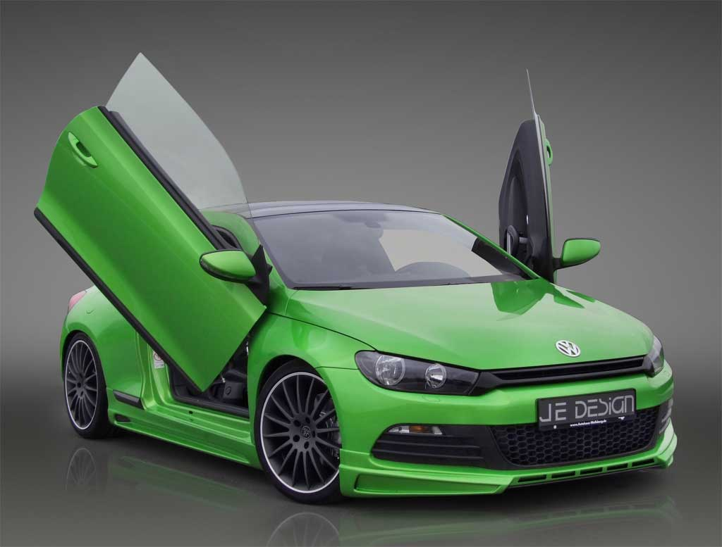 JE Design cranks the VW Scirocco 2.0 TDI up to 205hp