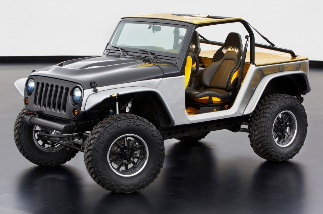 Jeep Wrangler Stitch, 2013 Moab Easter Jeep Safari Concept