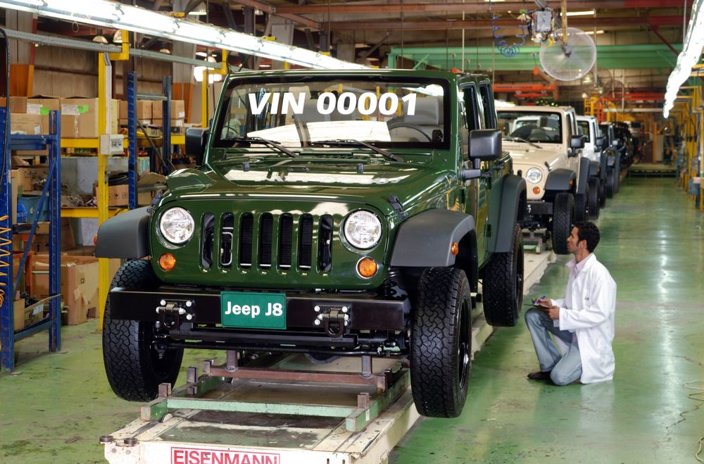 Jeep J8 Production Begins at Arab American Vehicles Company
