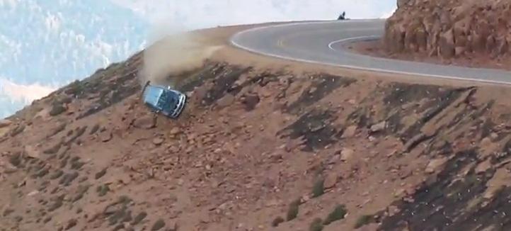 Jeremy Foley's Insane Pikes Peak Crash: Video