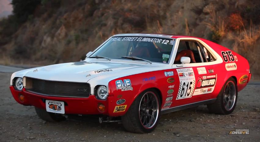 Pro Touring Cars For Sale >> 1969 AMC AMX Defines What A Pro Touring Car Should Be: Video