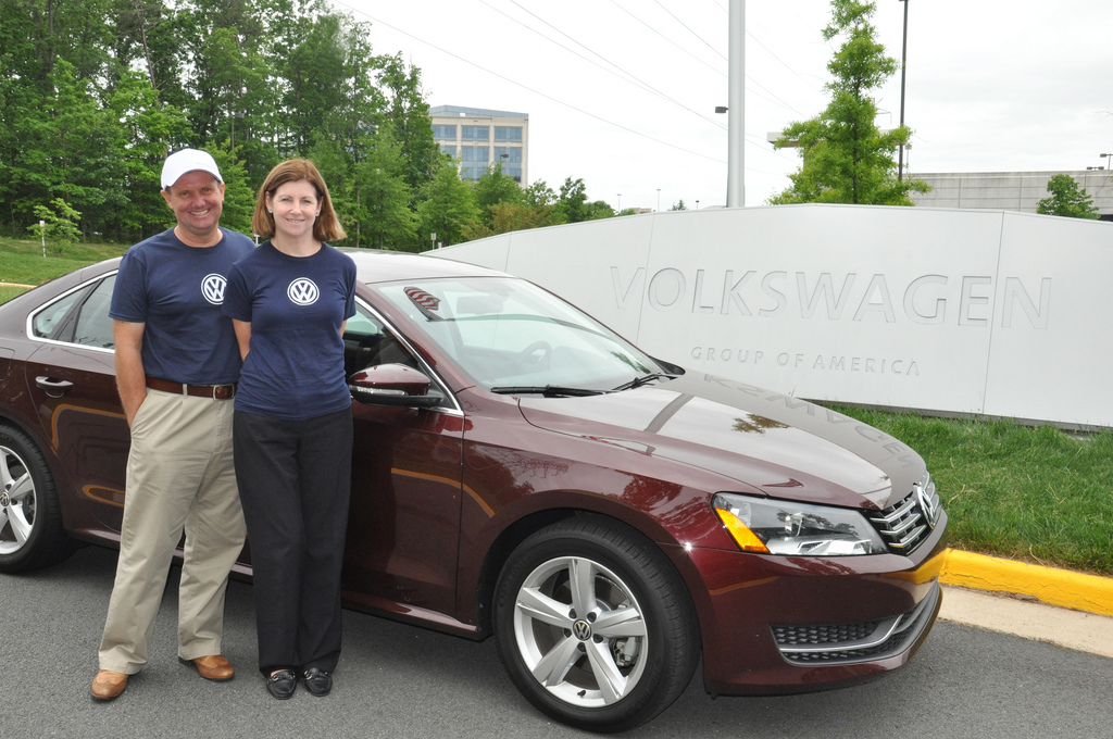 John and Helen Taylor achieve 1,626 miles on a tank of Diesel in a VW Passat TDI