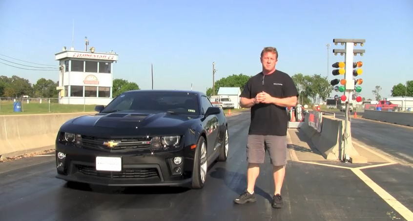 John Hennessey and a Camaro ZL1 with the HPE700 package