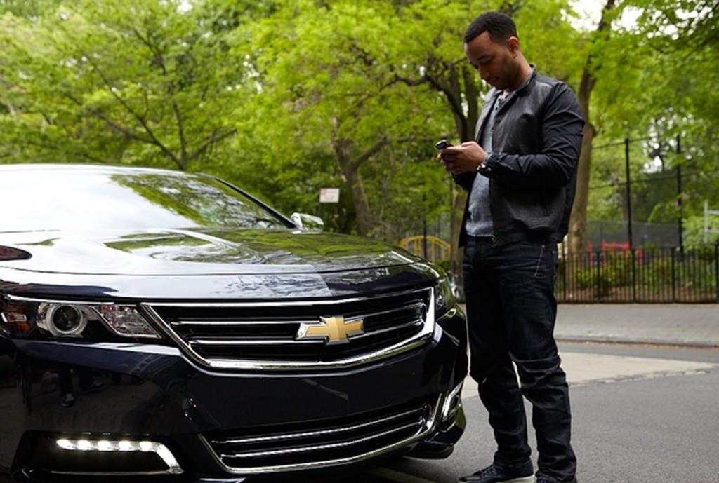 John Legend and the 2014 Chevrolet Impala