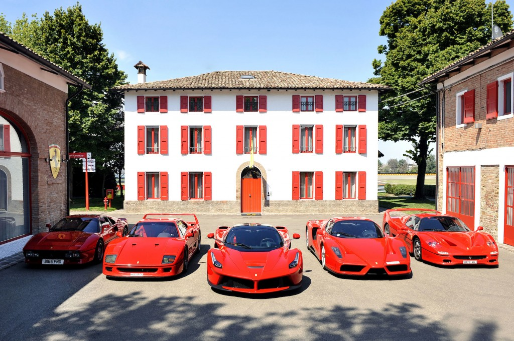 Jon Hunt takes ultimate Ferrari roadtrip to pick up new LaFerrari