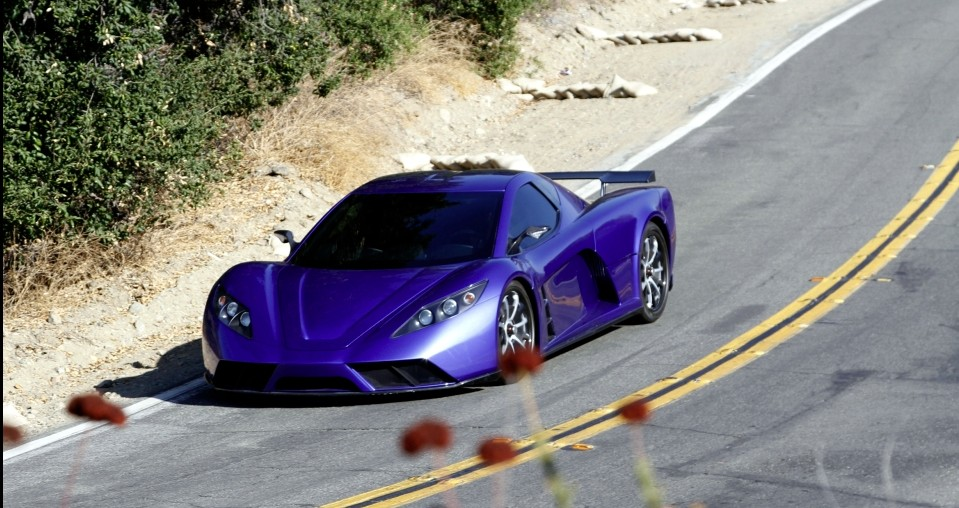 Kepler Motion Hybrid Supercar