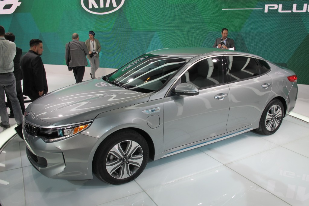 Image: 2017 Kia Optima Plug-in Hybrid, 2016 Chicago Auto ...