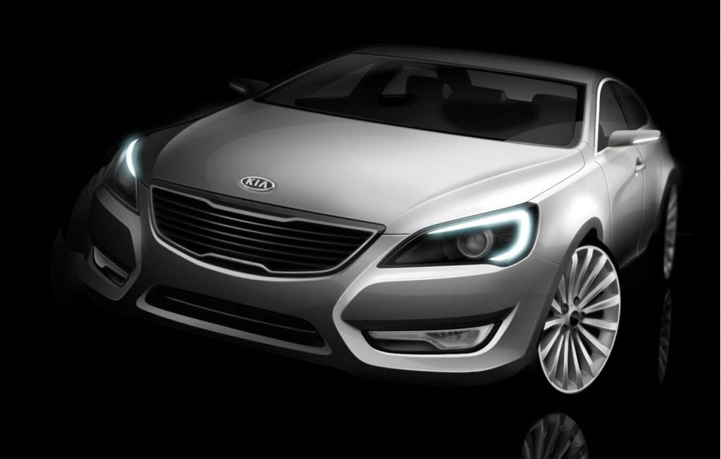 Rendered: Kia's New Premium VG