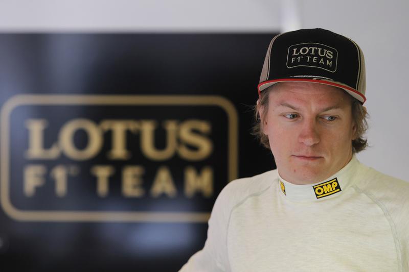Kimi Raikkonen - Photo courtesy Lotus F1 Team