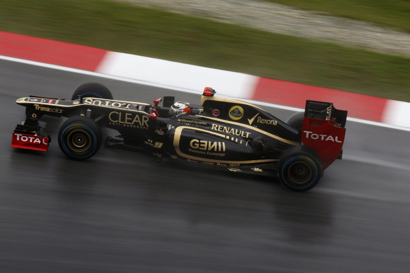 Kimi Raikkonen - Photo courtesy Lotus F1 Team