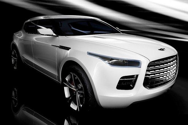Geneva Motor Show: Aston Martin Drops A Brick With Lagonda SUV Concept