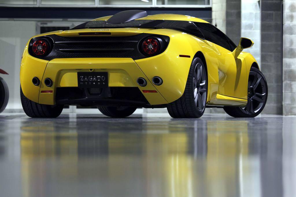 Lamborghini 5-95 Zagato. Images via Farhan Al Bastaki.