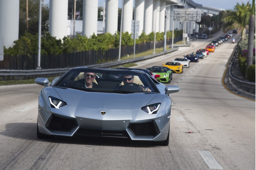Lamborghini Aventador LP 700-4 Roadsters in Miami, Florida