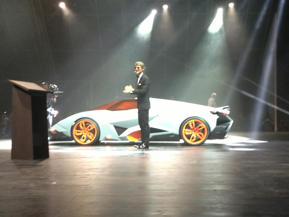 Lamborghini Egoista Concept. Image via Luxury & Supercar Weekend.