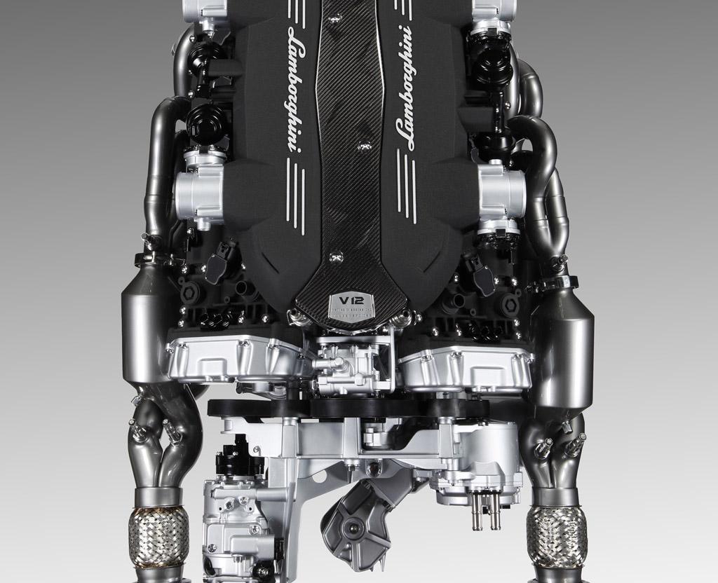 Chevy Vs Gmc >> Image: Lamborghini Aventador's 6.5-liter V-12 and ISR ...