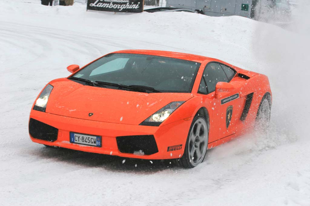 Lamborghini Winter Driving Academy