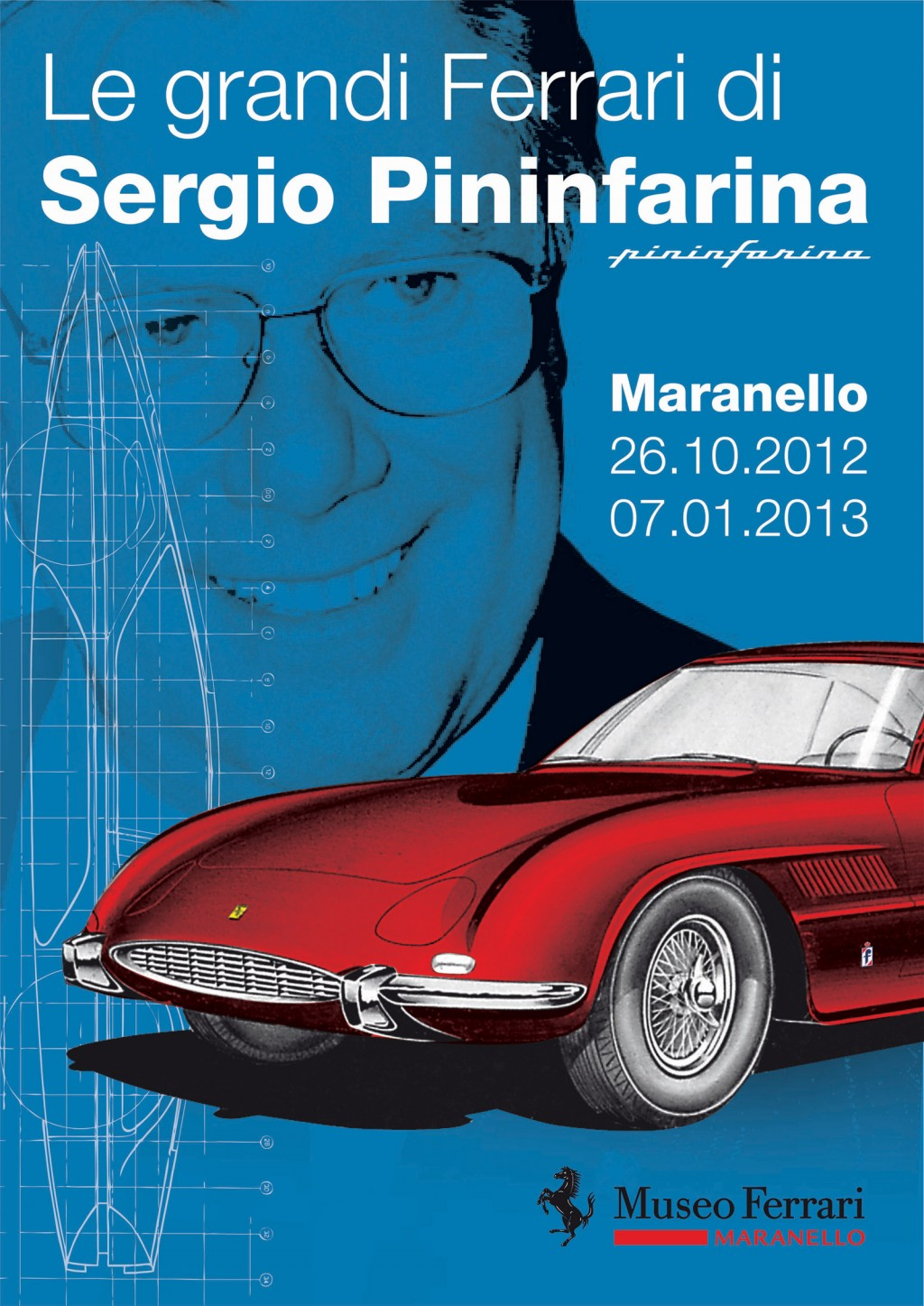 Le grandi Ferrari di Sergio Pininfarina exhibition