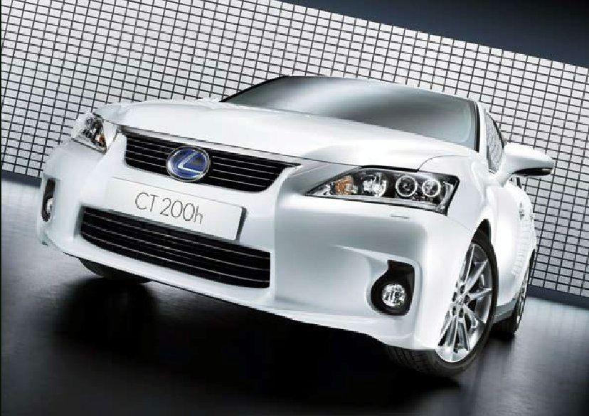Leaked 2011 Lexus CT 200h images