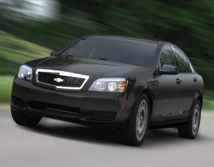 Leaked: Chevrolet Caprice Police Detective PPV