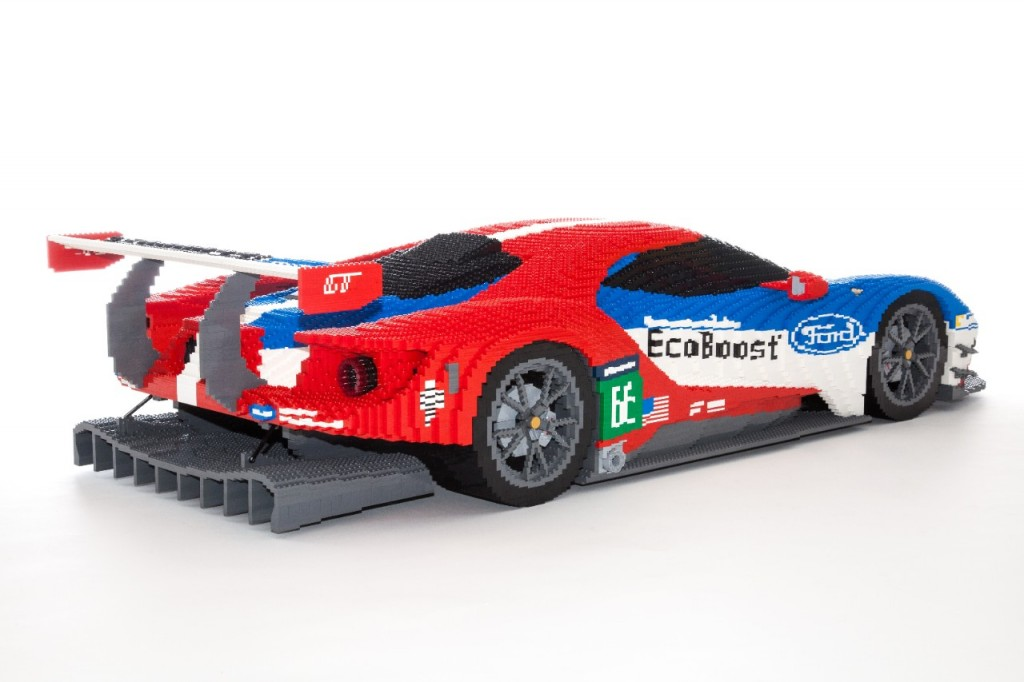... appeared in the following articles: Lego Ford GT on display at Le Mans